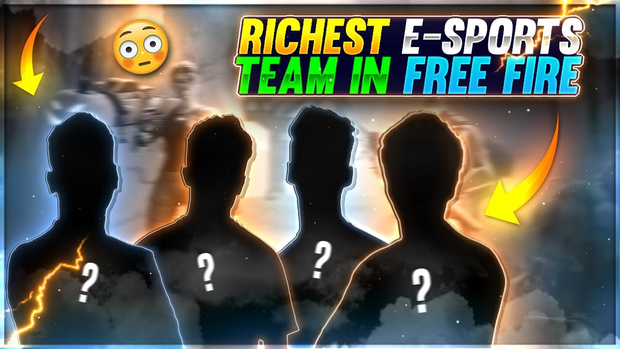 Free Fire Best And Richest E-Sports Team ?? || #shorts #factfire #freefirefacts