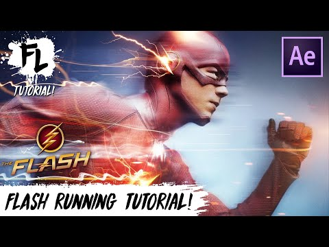 Film Learnin: The Flash Running After Effects Tutorial!