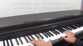 Aanewala Pal Janewala Hai Piano Cover By Angad Kukreja