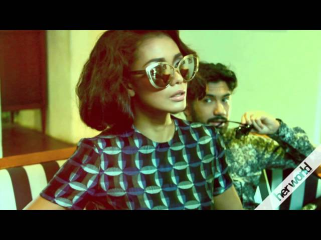 herworld TV - Fashion Spread with Adinia Wirasti & Reza Rahadian Retro(Mance)