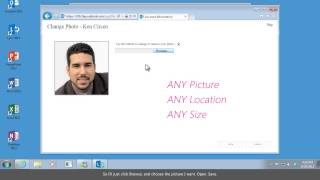 Lync 2013 | Change Your Picture