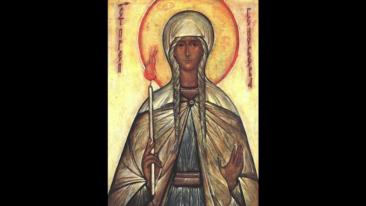 Sfânta Genoveva (primul primar al Parisului). O minune de viață în Hristos ...