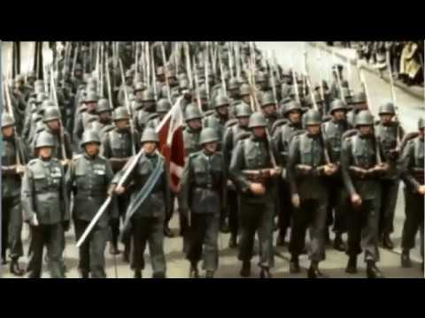 WWII in Color Part 2 - Lightning War (Documentary)