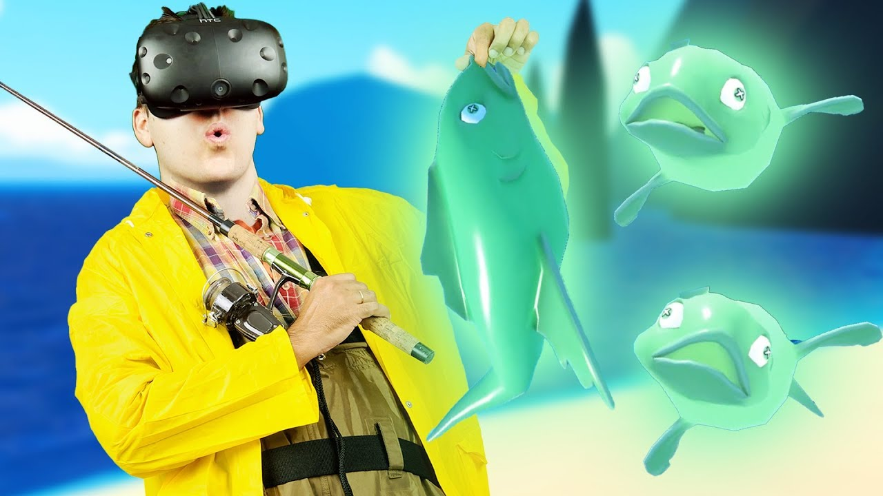 Ghost fish and finale crazy fishing gameplay vr htc for Crazy fishing videos