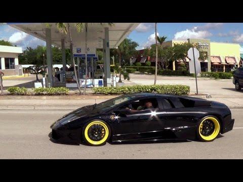 Lamborghini Murcielago Supercar Acceleration Great Engine Sound