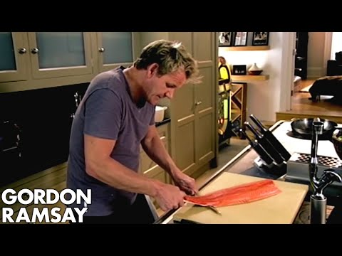 How To Skin and Debone Fish - Gordon Ramsay