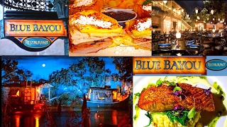 The Blue Bayou Restaurant In Disneyland | Join Us For Lunch 🐻