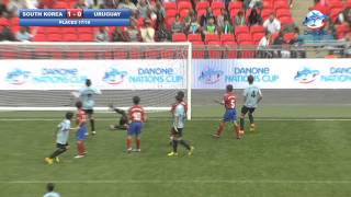 South-Korea vs Uruguay - highlights - Danone Nations Cup 2013