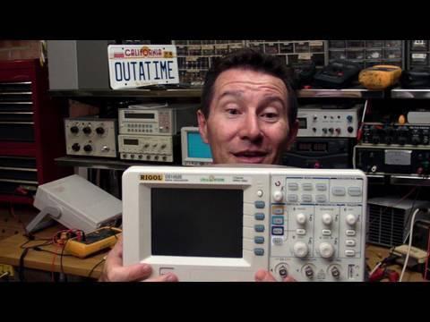 EEVblog #70 - Turn your Rigol DS1052E Oscilloscope into a 100MHz DS1102E (Hack)