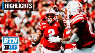 Highlights: Huskers Open 2019 with a Win South Alabama at Nebraska August 31, 2019