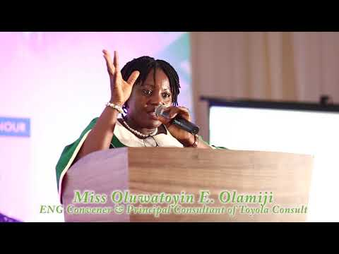 Oluwatoyin Olamiji   Moringa Export Launch