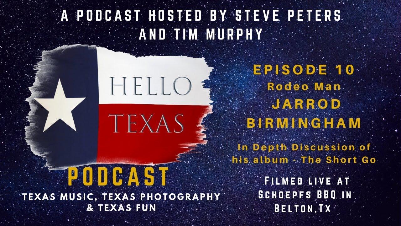 "Episode 10 - Rodeo Man (Jarrod Birmingham - ""The Short Go"" Discussion)"