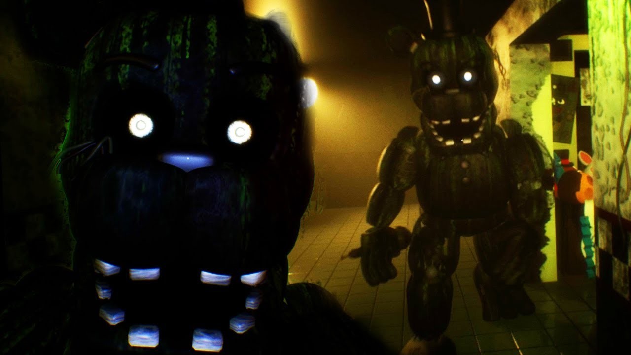 five nights at freddys 3 free roam