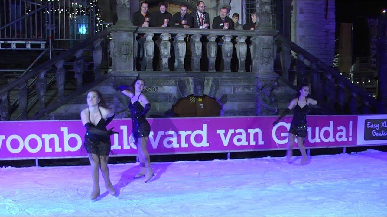 2018 week 2 - Opening Roze Jaar in Gouda op ijsbaan