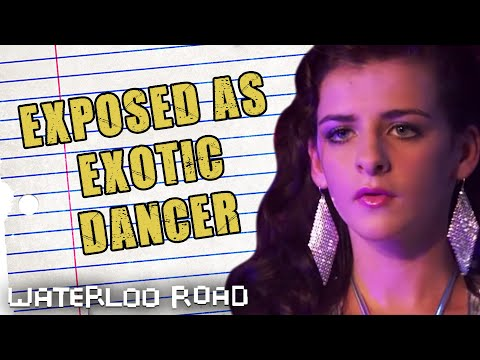 Vicki Sneaks Out Of School To Be An Erotic Dancer - Waterloo Road Throwback Thursday