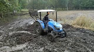 TT55 newhollad çamur  içinde performansı mücadelesi