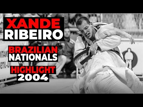XANDE RIBEIRO Jiu Jitsu Highlight Brazilian Nationals 2004 Brasileiro