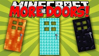 Minecraft Mods || MORE DOORS!!! || Diamond and Obsidian!!! || Mod Showcase [1.7.10]