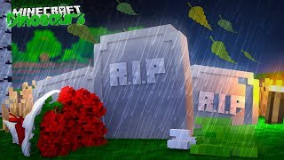 DINOSAUR FUNERAL PLANS!! - Minecraft Dinosaurs w/ Little Lizard
