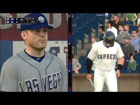 MLB The Show 17: Las Vegas 51s @ Round Rock Express. August  6, 2020.