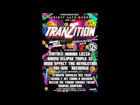 DJ Recharge Mc Smogie B2B Mc Simpson @ Tranzition 25.3.2016