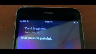 Siri - You Crack Me Up, So I Crack You