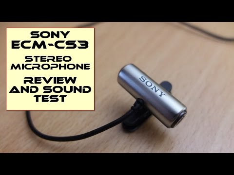 Sony ECM-CS3 Microphone - Review and Sound...