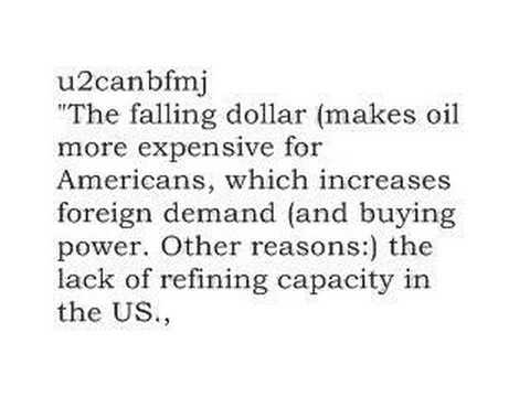 Answers: Why are gas prices so high?
