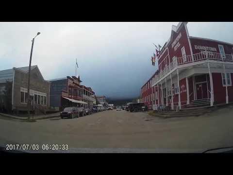 07/03/2017 -  Dawson City, Yukon to Chicken, Alaska