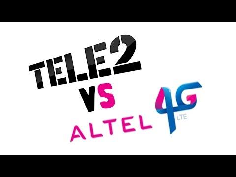 Тест Теle 2 4G LTE в Казахстане г.Алматы