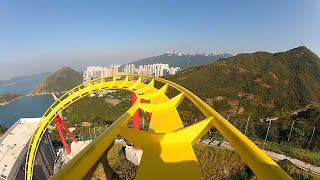 manege EXTRÊME ROLLER COASTER  __ accrochez vous __ most incredible video pov hd