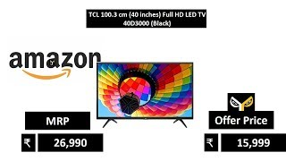 TCL 100.3 cm (40 inches) Full HD LED TV 40D3000 (Black)