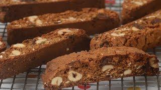 Gingerbread Biscotti Recipe Demonstration - Joyofbaking.com