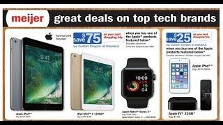 Meijer Ad Top Tech Brands For This Week Great Deals