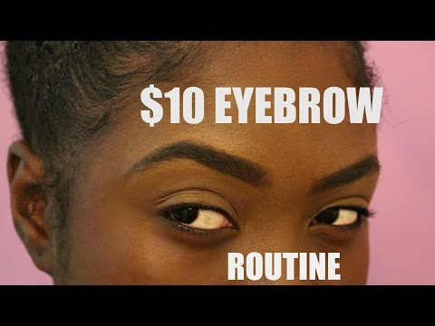TUTORIAL: EYEBROW MAKEUP ROUTINE