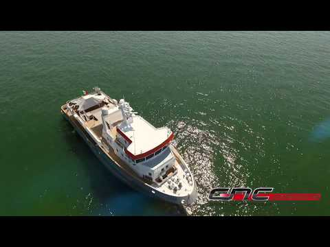 Ocean King 130 Explorer Yacht Genesia - Launch and Delivery