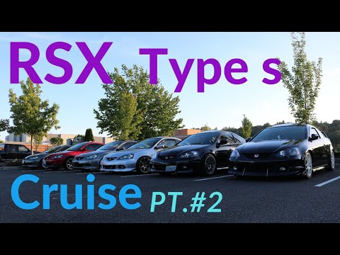 RSX Type S Cruise Turned Into Race.