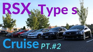 rsx type s cruise turned into race