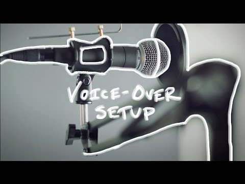 My Voice-Over Recording Gear Setup