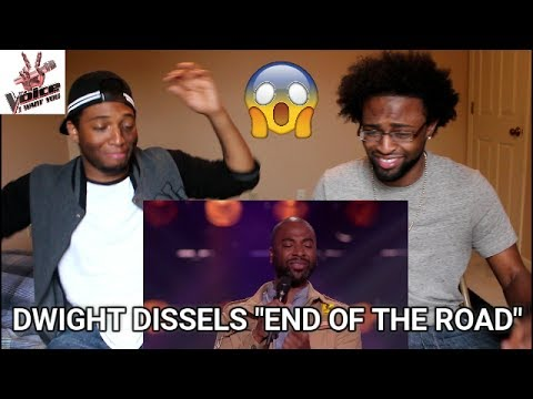 Dwight Dissels – End Of The Road (The Blind Auditions | The voice of Holland 2016) (REACTION)