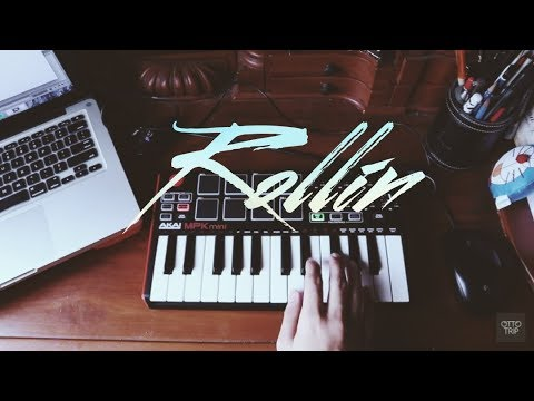 Rollin - Calvin Harris Feat. Future, Khalid (Instrumental Remake) With Akai MPK Mini2