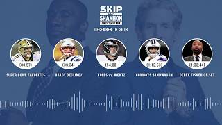 UNDISPUTED Audio Podcast (12.18.18) with Skip Bayless, Shannon Sharpe & Jenny Taft | UNDISPUTED