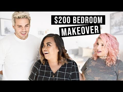 $200 Bedroom Makeover! Hygge Style!