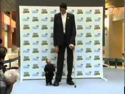 Самый маленький и Самый большой человек в мире