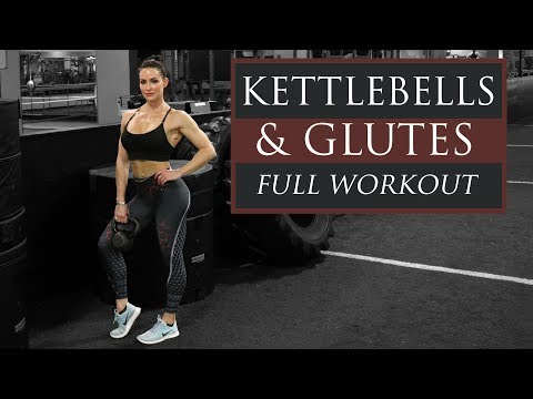Complete Legs and Glutes Workout Kettlebell/Dumbbell Only