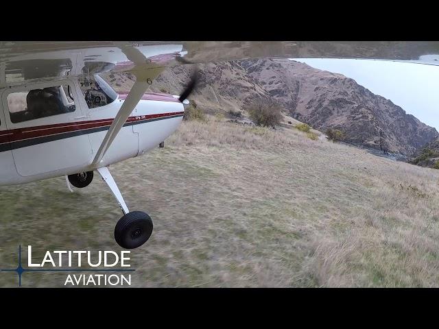 Salmon Bar Idaho Backcountry Taildragger SHORT landing