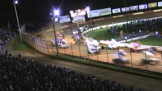 Lincoln Speedway World of Outlaws Highlights 5-10-12