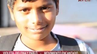 VIOLETA, DELFINA Y PABLO MOVIMIENTO ENCANTADO