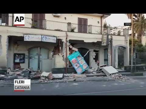 Ten injured in Italy earthquake