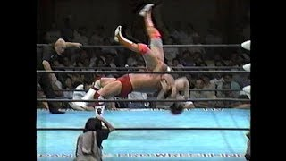 Steve Williams vs Kenta Kobashi etc
